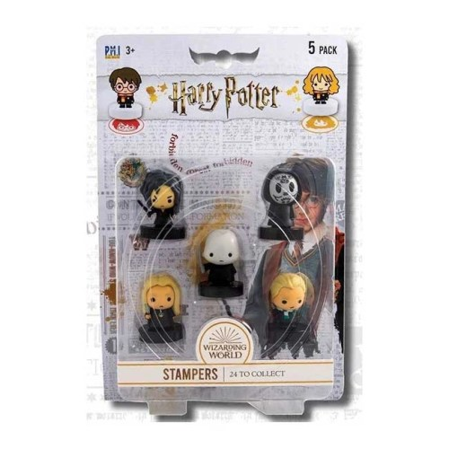 Timbrini Harry Potter 5 Personaggi Set A Hagrid Piton Lupin McGranitt Silente