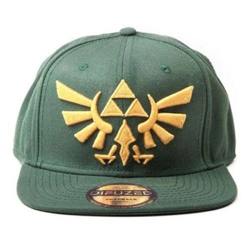 Cappello verde con Visiera regolabile The Legend of Zelda Logo