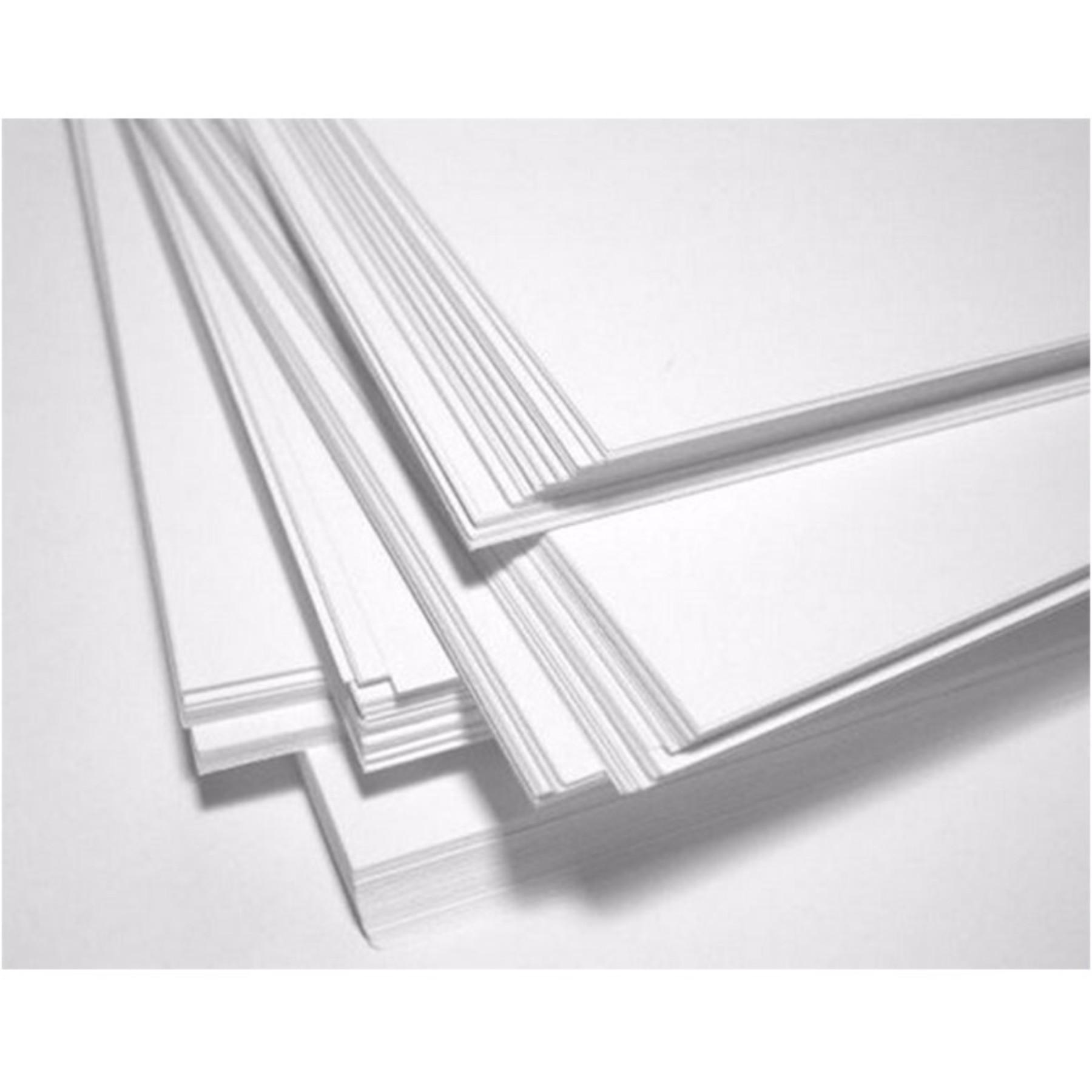 Papel Bond, 50 hojas, Tamaño Carta, 140 gr., color blanco.