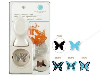 Martha Stewart Stamp & Punch Butterfly