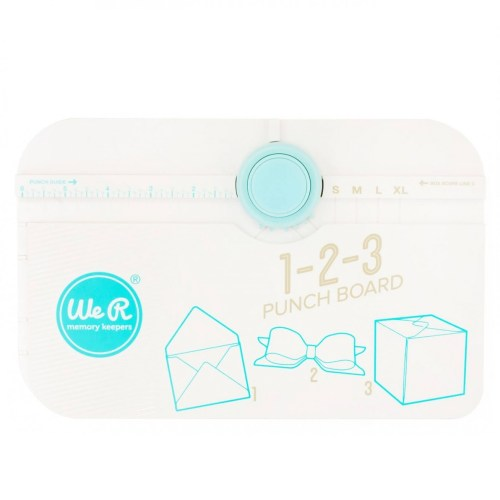 Envelope Punch Board White We R Memory Keepers