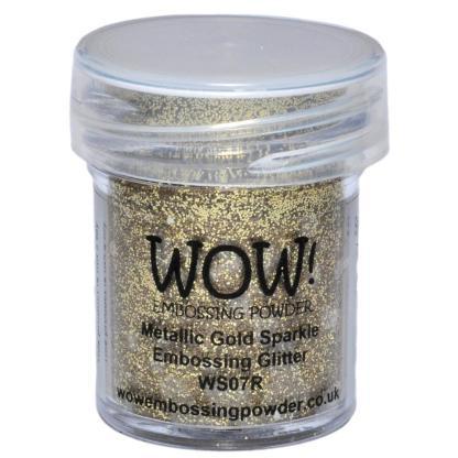 Polvo Emboss Gold, marca WOW.