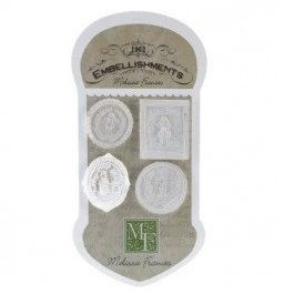Aplicaciones Resina Cameo Assortment, Melisssa Frances