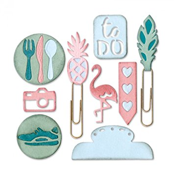 Sizzix - Thinlits Die - Planner Page Icons 2