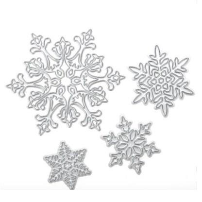 Troquel Copos de Nieve