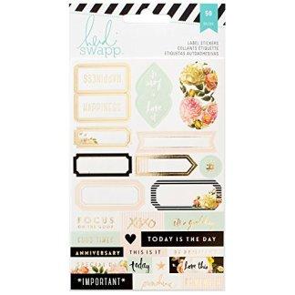 Stickers Etiquetas Planners Heidi Swapp