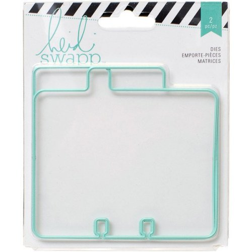 Heidi Swapp - Wanderlust Collection - Memorydex - Die Set - Tabs