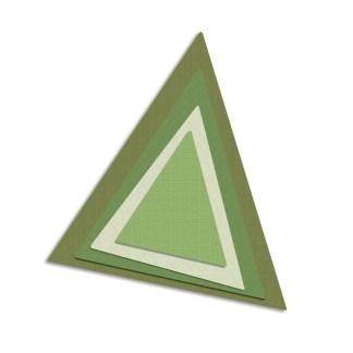 Framelits Triangulos, Sizzix