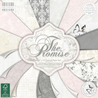 Kit de Papeles, The Promise, Hobby Craft