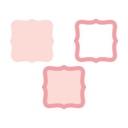 Martha Stewart Layering Punch Flourish Frame