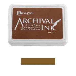 Pad de Tinta Brown, Archival Ink