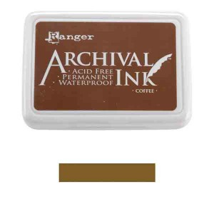 Pad de Tinta Brown, Archival Ink