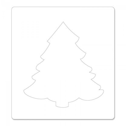 Bigz Die withTextured Impressions, Christmas Tree #2 by Beth Reames