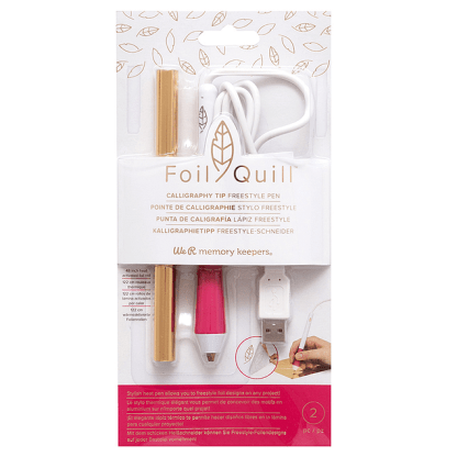 CALIGRAPHY TIP FOIL QUILL FREESTYLE PEN WE R