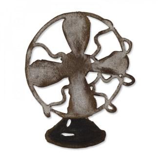 Bigz Vintage Fan, Sizzix