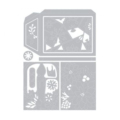 Skip to the beginning of the images gallery Sizzix Thinlits Die Set 10PK - Winter Lantern