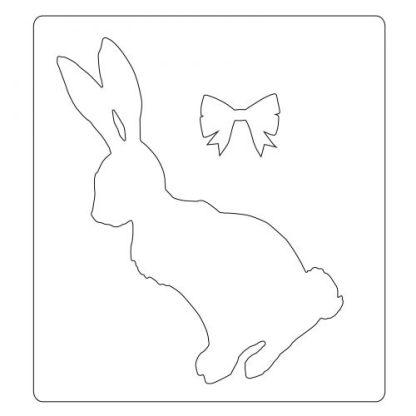 Haz clic para obtener una vista ampliada VÍDEO Sizzix Bigz Troquel Conejo de cola de algodón