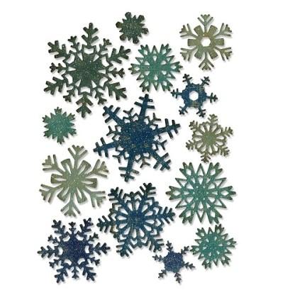 Thinlits Snowflakes Sizzix