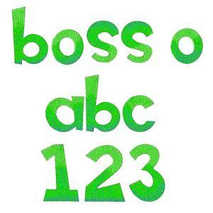 "BIGZ XL ""ALPHABET BOSS-O""l"