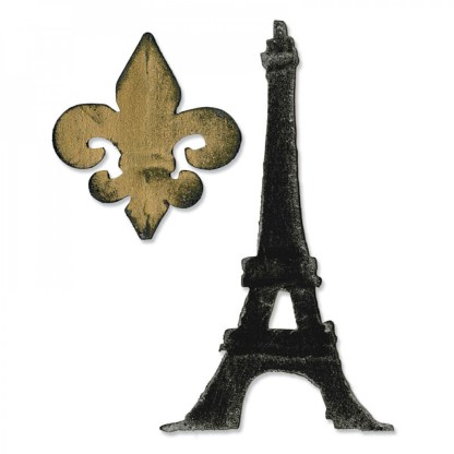 Bigz Fleur de Lis y Torre Eiffel, Sizzix