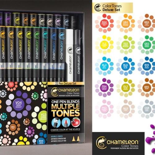 Chameleon Pens - Deluxe Set of 22 Markers