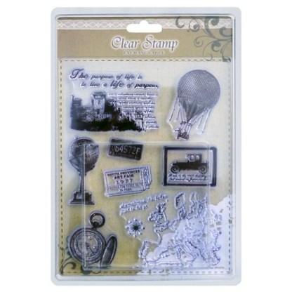 Stamp Adherente – Viajes