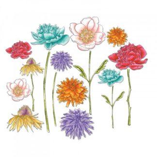Framelits Garden Flowers, Sizzix
