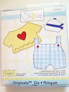 Troquel Sizzix Sailor Outfit