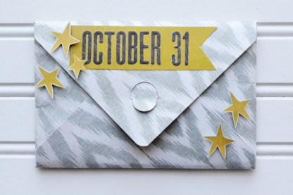 Punch Board Notcher Envelope, W R Memories