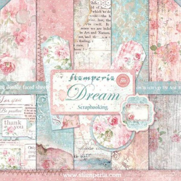 Pack Paper Colection Dreams, Stamperia