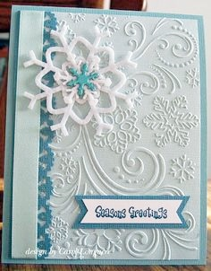 Texturizador Snowflakes And Flourishes, Darice