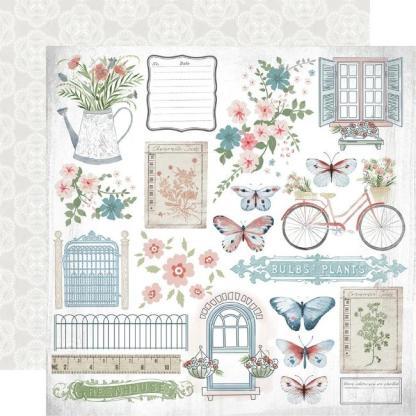 Kaisercraft Flower Shoppe Paper Pack (With Bonus Sticker Sheet)