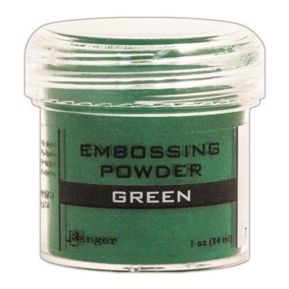 Polvos para Embossing, Verde, 34 gr.