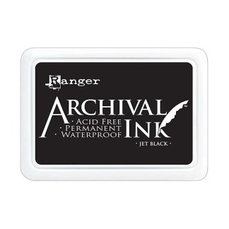 Pad de Tinta Black, Archival Ink