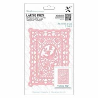 Lace Frame Large Dies, Xcut