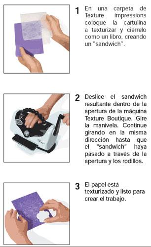 Kit Texture Boutique Machine, Sizzix