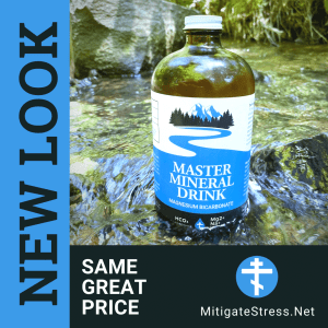 new look for magnesium bicarbonate master mineral drink
