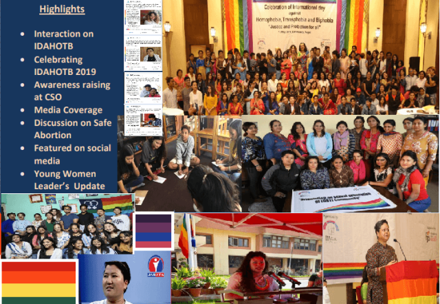 Mitini Nepal May 2019-IDAHOTB-Nepal-Lesbian-Bisexual-Trans-Intersex-Organization-LBTI-South-Asia-Read the Newsletter