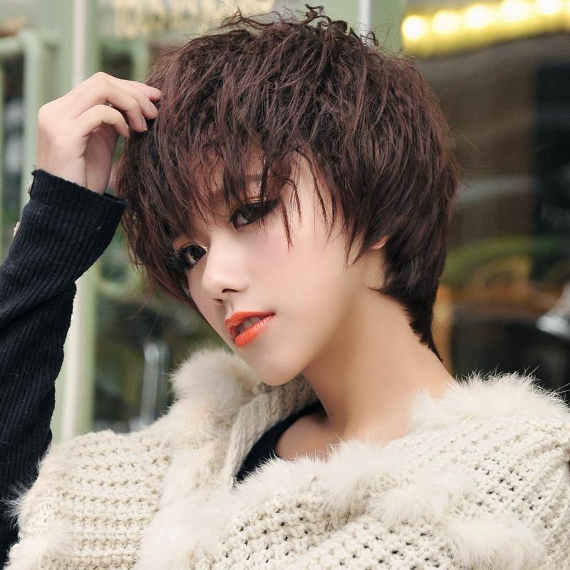 全頂式 短髮【7067】玉米燙.錫紙燙.米粉燙.小捲燙 俏麗 時尚短捲髮 - 米緹雅假髮專賣店