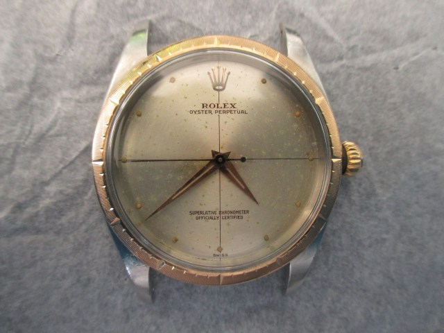 Rolex cross hair dial.