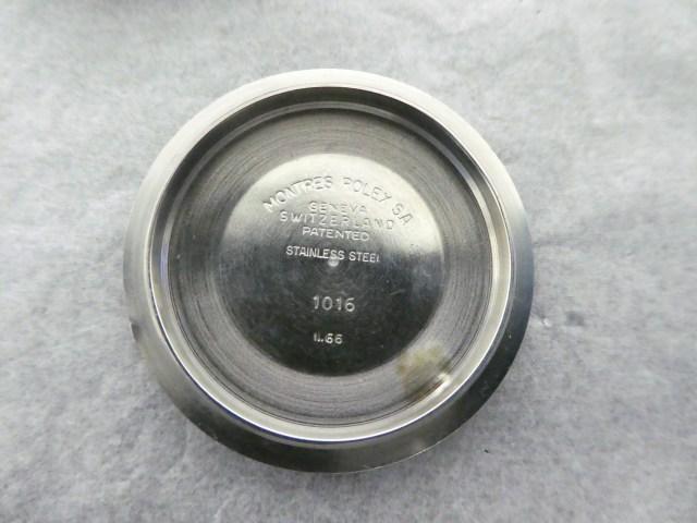 1966 Rolex Explorer 1016 case back