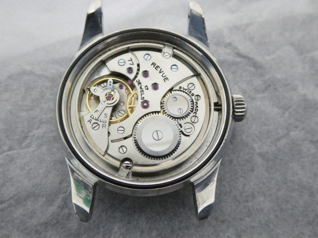 Revue calibre 77 Super Compressor case