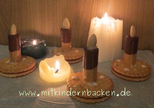 Kerzen zum Naschen und echte Kerzen