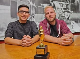 1. Platz Sebastian Gerdes (23) und Daniel Zehren (25)