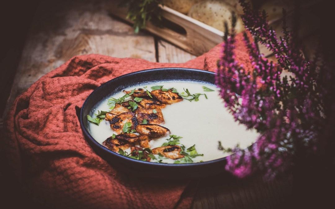 Zupa krem z ziemniaków i cebuli