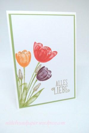 Stampin' Up Berlin Karte Geburtstag Tranquil Tulips 1 mitliebeundpapier.wordpress.com