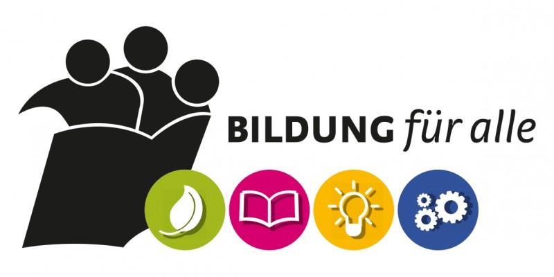 Logo Bildung für alle 2016
