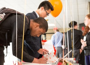 Over 100 students and parents attended the SEED Academy Final Ceremony on Friday April 2 at 50 Vassar Street.
