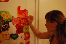 Dieses Bild haben die Gäste für uns gemalt. Es ist sehr schön geworden!