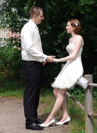 Hochzeits-Foto-Shooting